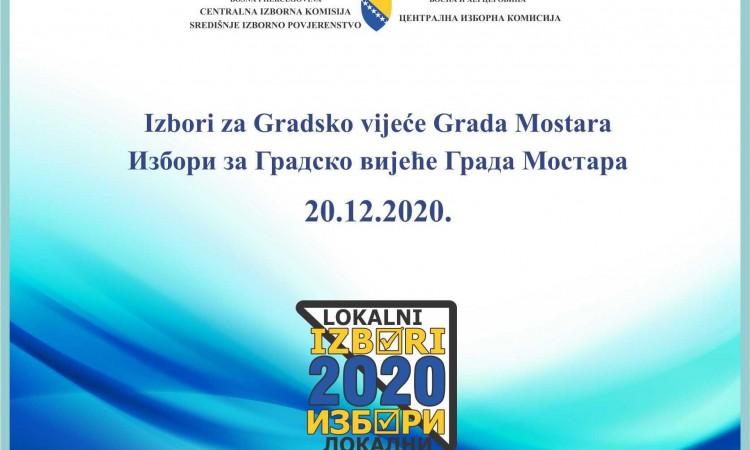 Lokalni izbori Mostar/ Izmijenjeni utvrđeni rezultati