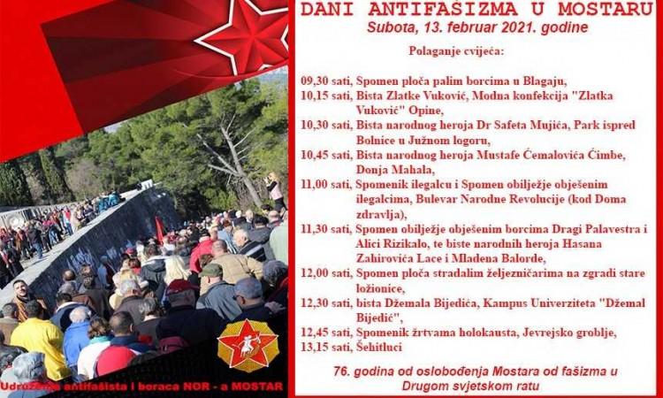 Obilježavanje 76. godišnjice oslobođenja Mostara