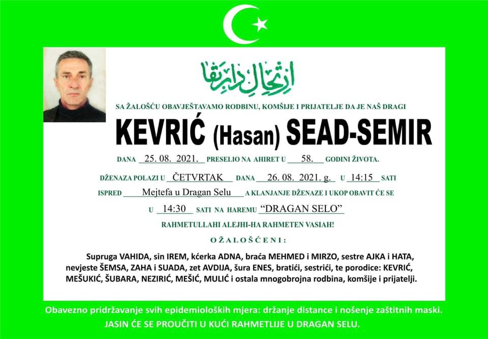 Kevrić Sead - Semir
