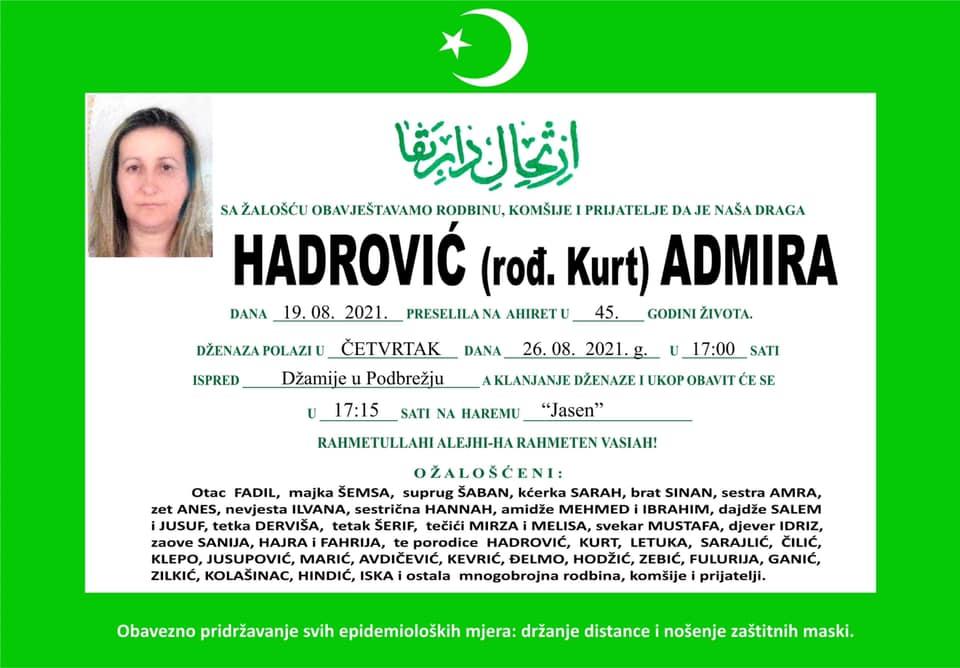 Hadrović Admira