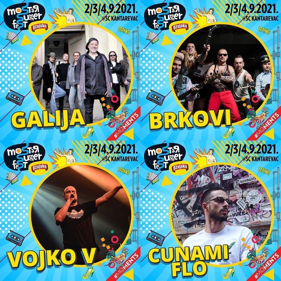 Četiri nastupa koja ne smijete propustiti na Mostar Summer Festu