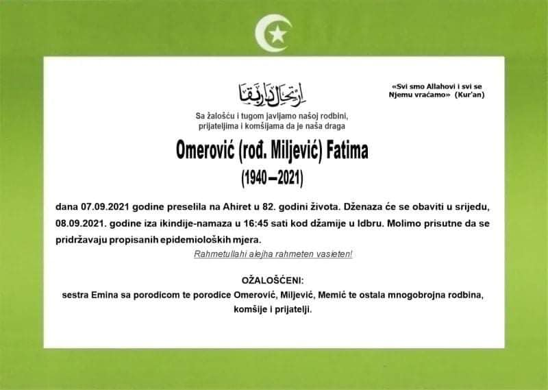 Omerović Fatima