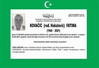 Kovačić Fatima