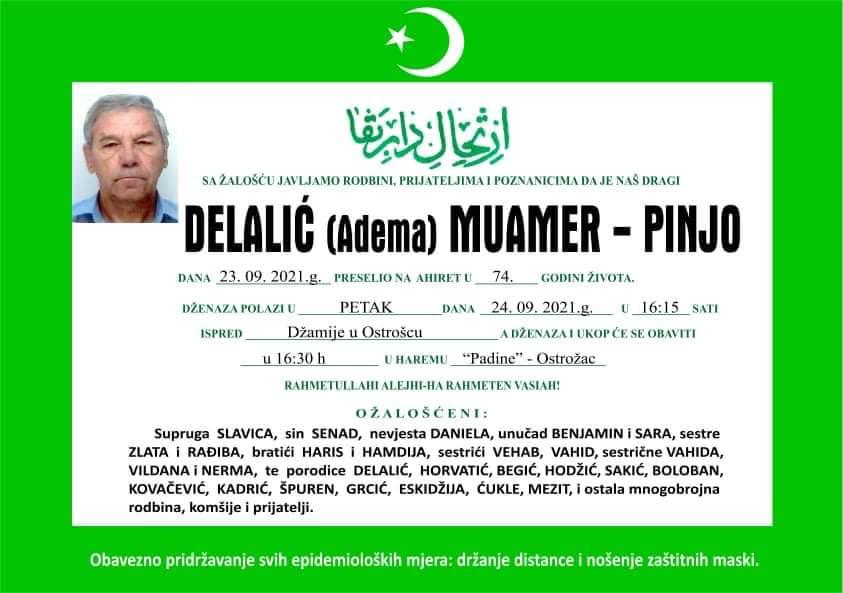 Delalić Muharem - Pinjo