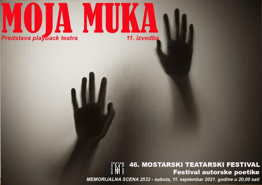"""Večeras """"MOJA MUKA"""" i predstavljanje poezije Emane Tabaković"""
