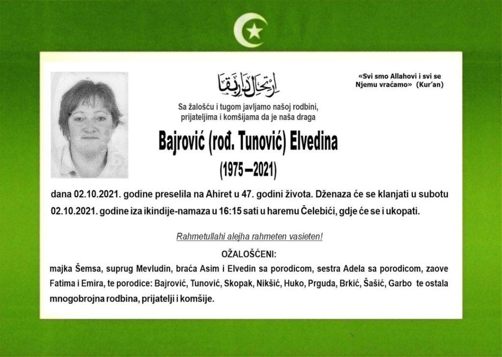 Bajrović Elvedina