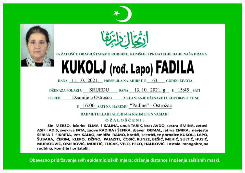 Kukolj Fadila